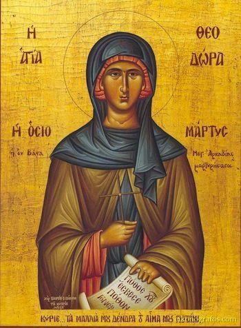 St. Theodora of Vasta