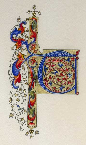 Enluminures reproduction