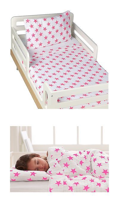 Other Kids and Teens Bedding 176987: Aden + Anais Classic Toddler Bed In A Bag - Fluro Pink Kids Bedding Sets: Tod... -> BUY IT NOW ONLY: $69.88 on eBay!