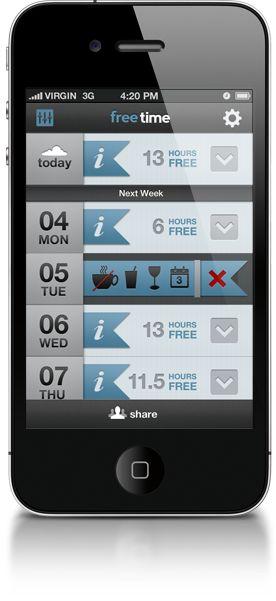 freetime iphone app