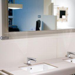 espejos para bao moderno tono bagno