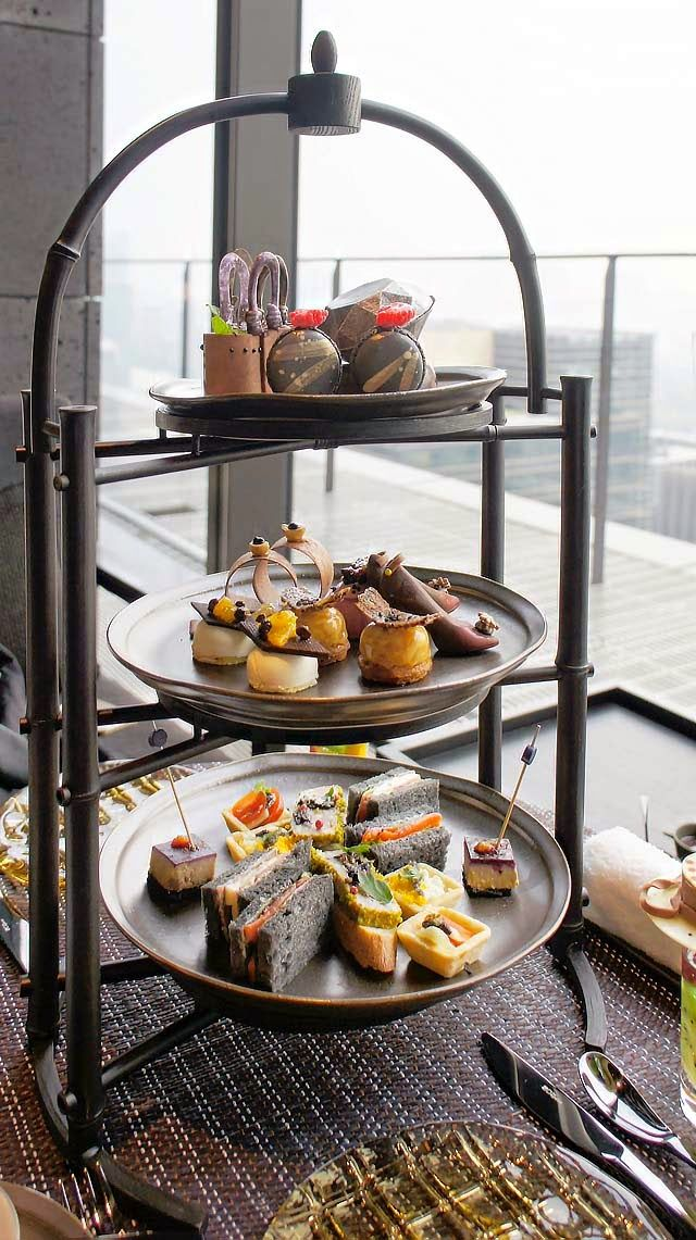 Black Afternoon Tea @The Lounge by AMAN – AMAN TOKYO