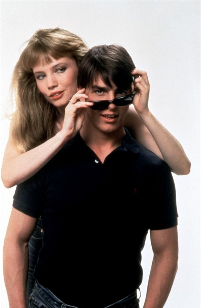 Rebecca De Mornay and Tom Cruise in Risky Business (1983) Before Tom went kind of nutso.