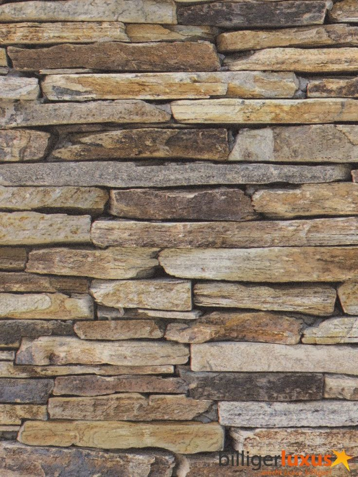 A s cr ation vliestapete wood 39 n stone tapete 9142 17 for Steinmauer tapete