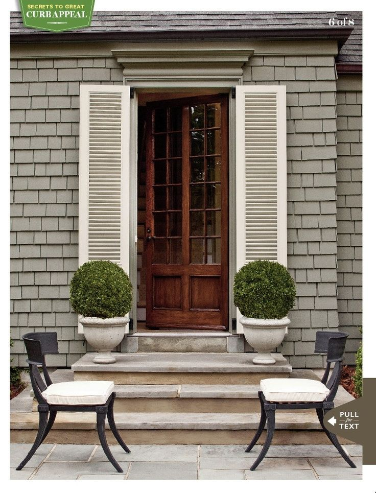 Curb appeal a collection of ideas to try about other exterior colors carmel by the sea and - Exterior and interior painting omaha collection ...