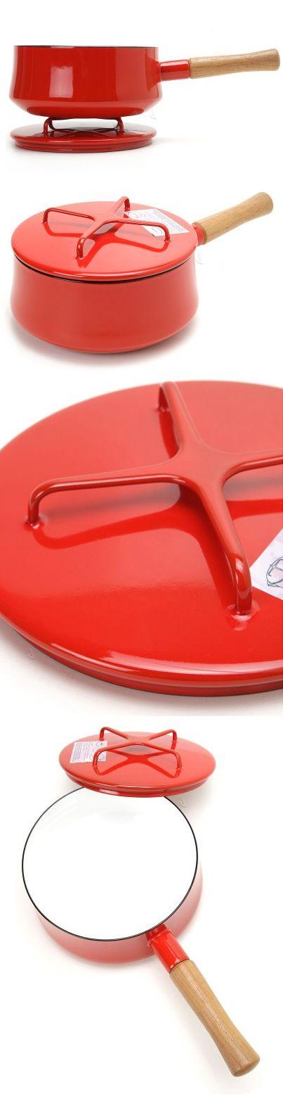 Dansk Kobenstyle saucepan pot // So clever how the lid becomes a trivet! Product Design #productdesign