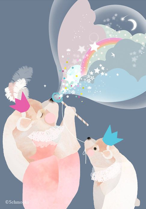 Hey, I found this really awesome Etsy listing at https://www.etsy.com/listing/179917570/large-childrens-nursery-art-bear-bubbles