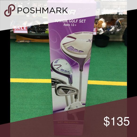 Girls Junior golf Set age 12+ TourX Junior Golf Set for Girl Age 12+ in Purple Other