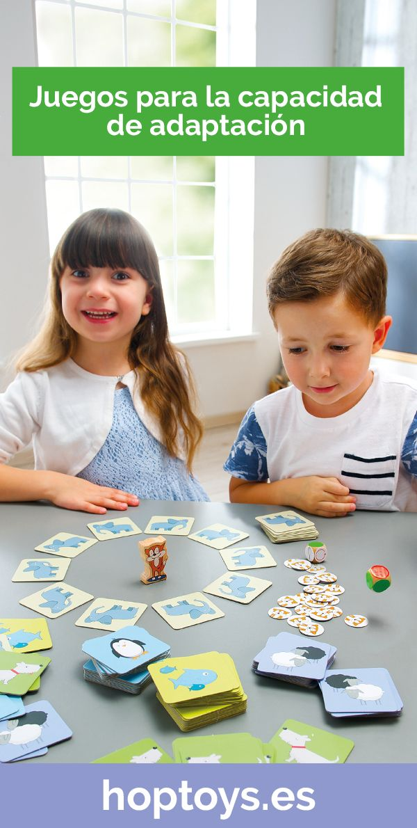 Juegos Para La Capacidad De Adaptación Juegos Juegos Y Juguetes Aprender Jugando