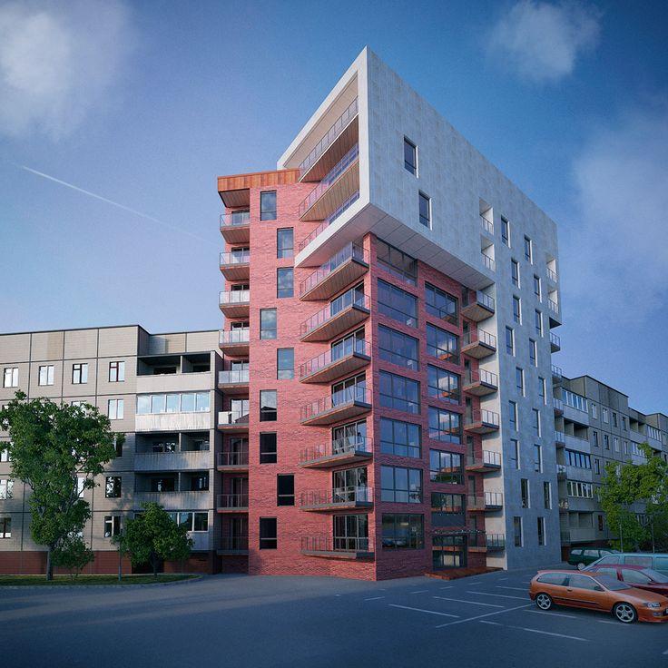 Красивые фасады многоэтажных домов фото распустившийся желатин