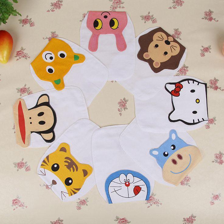 >> Click to Buy << Baby Girl/Boy Sweat Absorption Square Cartoon Towel Children's Outdoor Play Wipe Sweat Pads Kids Underwear Hand Towel Wholesaler #Affiliate