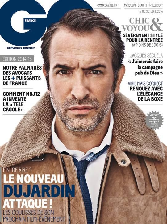 Jean Dujardin for GQ France October 2014