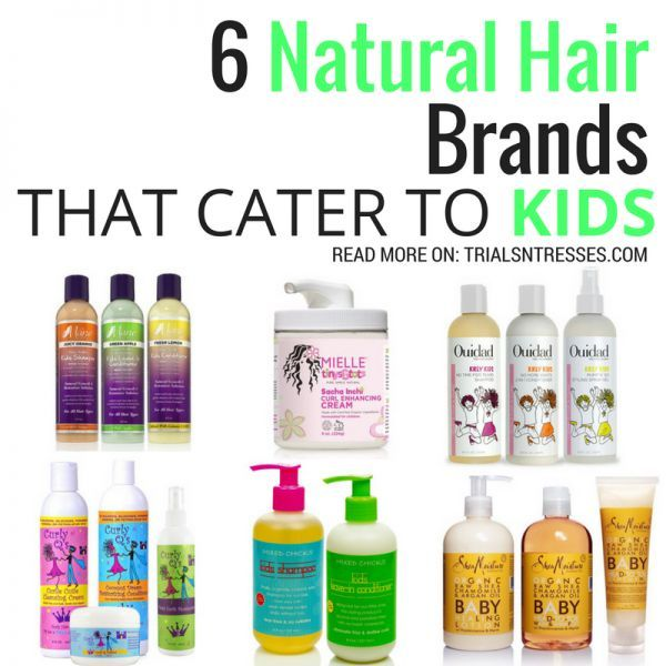 Natural Hair Brand That Cater To Kids Natural Hair Styles Top Natural Hair Products Hair Brands