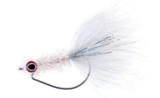 Tie the HPU Weedless Fly. Cast deep into cover confidently with this weedless baitfish imitation.