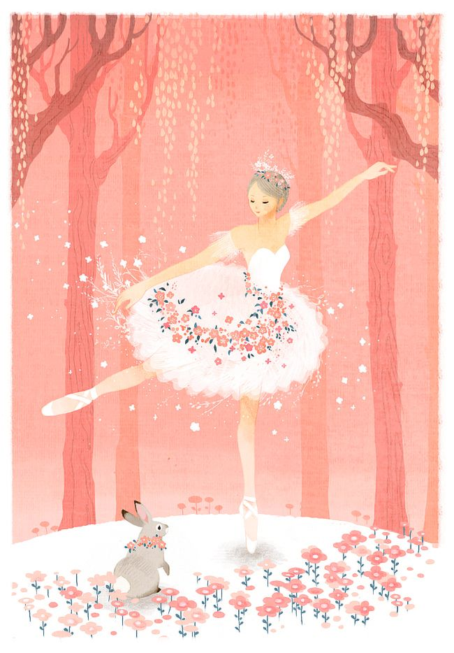 Outfit ballerina del artista Tetorapod  ANIME  Ballet