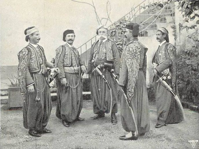Beiruti Generals [1880s]