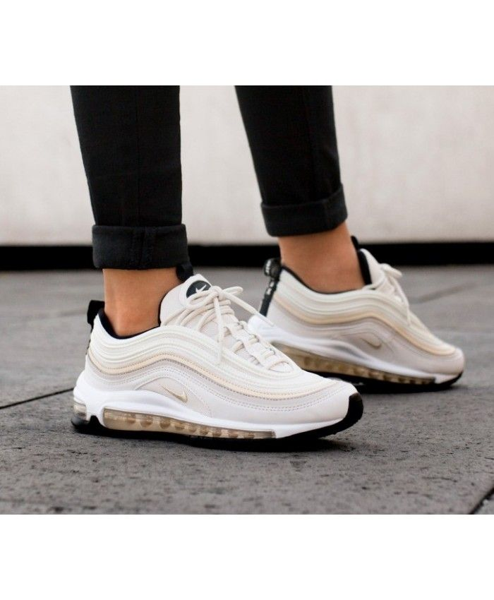 online store 77534 27796 Nike Air Max 97 Phantom Desert Sand Black Trainers