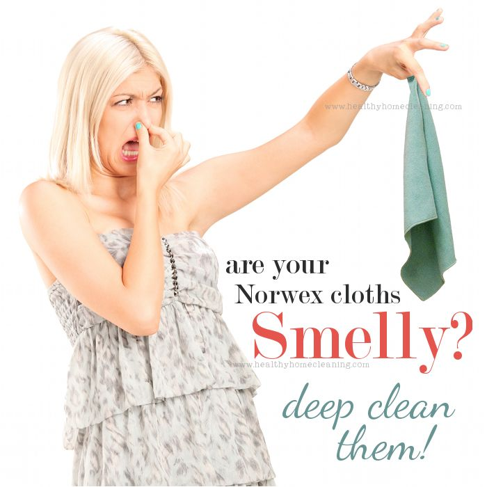 If you have Norwex microfiber cloths that smell HORRIBLE, don't despair! There IS a way to deep clean them and have them smelling like new again.