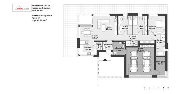 Projekt domu HomeKONCEPT 36