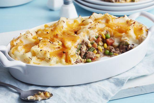 Easy Shepherd S Pie Kraft What S Cooking Recipe Easy Shepherds Pie Shepherds Pie Beef Recipes