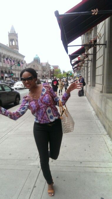 Boston love dancing in the street
