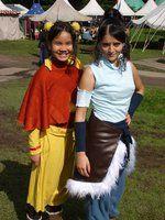 Avatar Korra & Ikki cosplay Elf Fantasy Fair 2013 Arcen