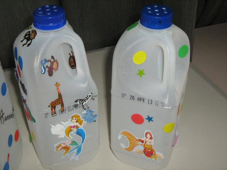 1000+ images about Plastic Bottle / Milk Jug Crafts on ...