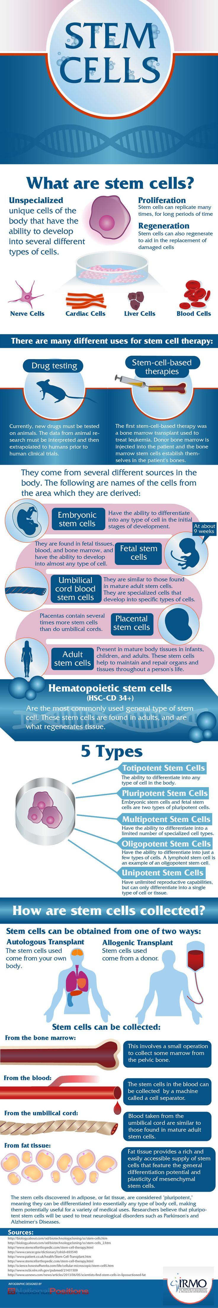 INFOGRAPHIC: NOT ALL STEM CELLS ARE CREATED EQUAL [Stem Cells: http://futuristicnews.com/tag/stem-cells/]