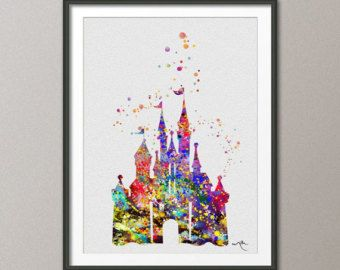 98 Best Watercolor Disney Images On Pinterest Watercolor