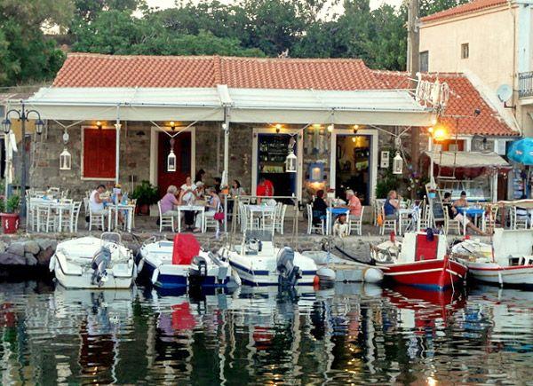 Seaside Restaurant in Lesvos