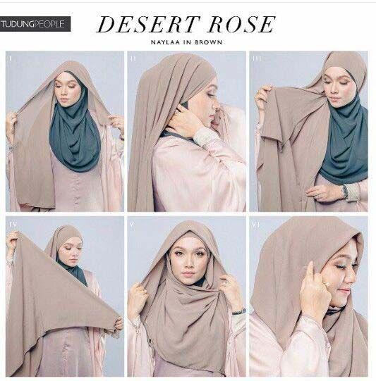 Tutoriels Hijab Modernes1