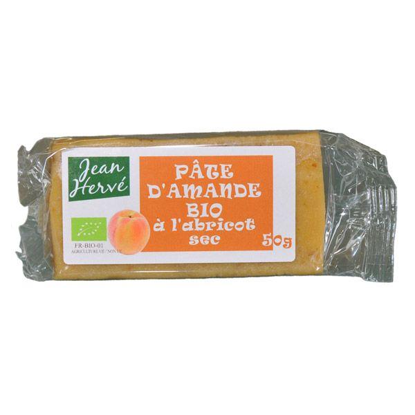 Pâte d'amande à l'abricot - 50g Jean Hervé   Acheter sur Greenweez.com
