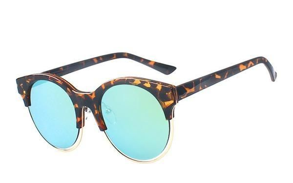 Superstar Sunglasses Lens Width: 54 mm Cat Eye Sunglasses with Mirrored Lenses. Incredibly Cool.