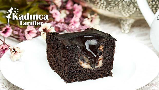 Muhallebi Dolgulu Çikolatalı Kek Tarifi nasıl yapılır? Muhallebi Dolgulu Çikolatalı Kek Tarifi'nin malzemeleri, resimli anlatımı ve yapılışı için tıklayın. Yazar: Sümeyra Temel