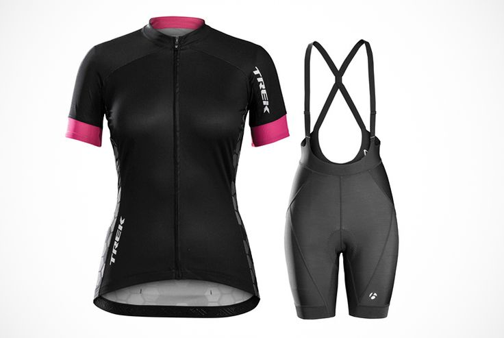 ​Bontrager Anara Women's Jersey and Meraj Bib Shorts http://www.bicycling.com/bikes-gear/apparel/the-40-best-cycling-kits-of-2016/slide/24