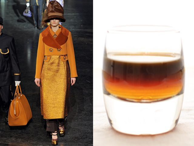 Louis Vuitton fw 2012-13 / Moretta with Coffee