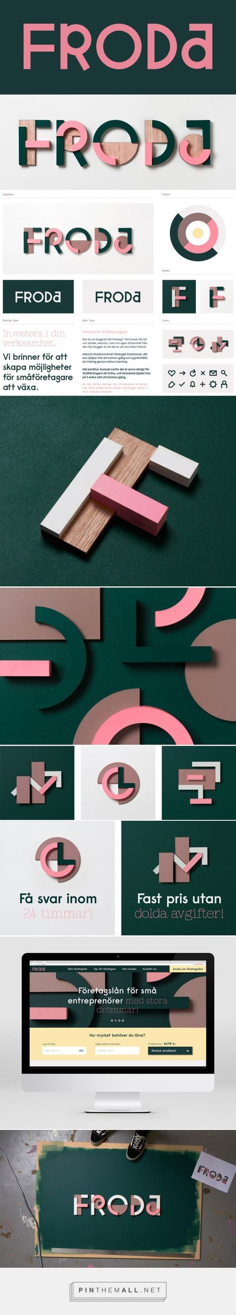 Brand New: New Name, Logo, and Identity for Froda by Snask...