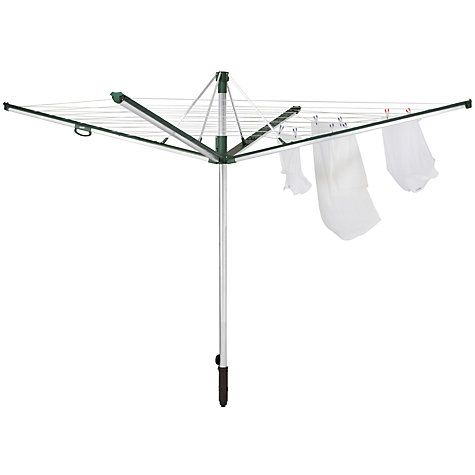 Buy Leifheit Linomatic Plus 500 Outdoor Rotary Airer Online at johnlewis.com