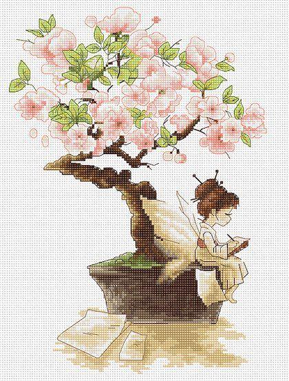 The Sakura da Luca-S - Luca-S - Ricamo - Casa Cenina