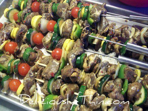 Beef Kabob Recipe, Grilling Kabobs