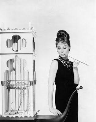 "Vintage Glamour Girls: Audrey Hepburn in "" Breakfast at Tiffany´s """
