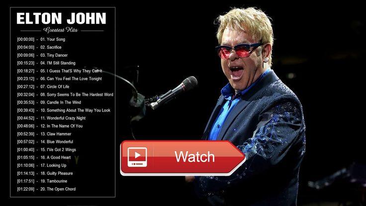 Elton John Greatest Hits Full Album 17 Top Best Songs Of Elton John  Elton John Greatest Hits Full Album 17 Top Best Songs Of Elton John 1 Your Song Sacrifice Tiny Dancer