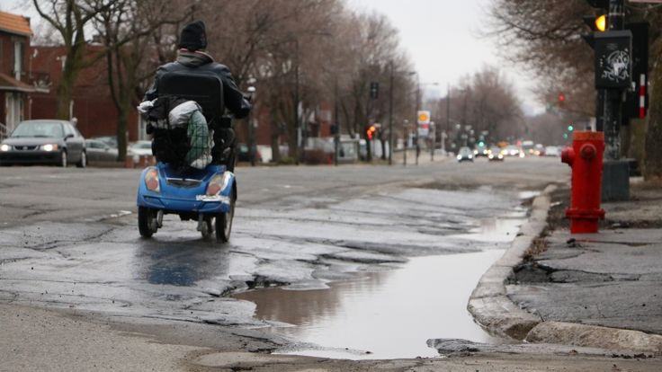 New data shows which Montreal streets are most pothole-prone - Montreal - CBC News