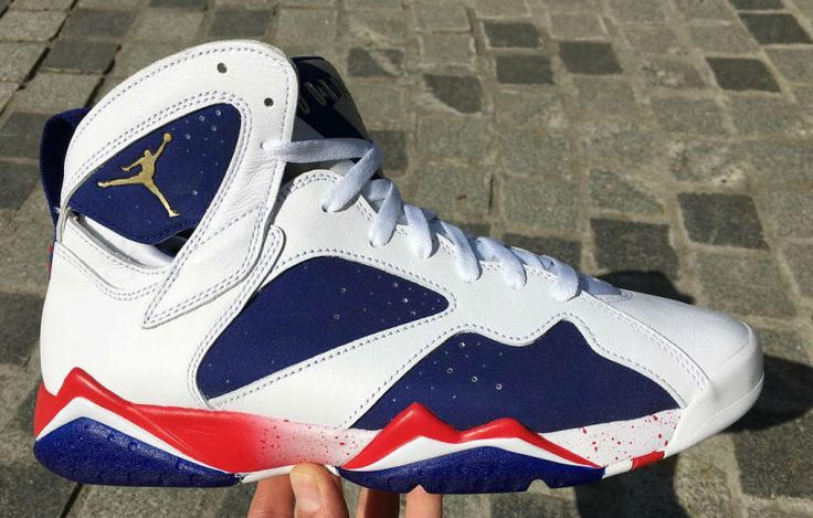 304775 123 Air Jordan Retro 7 Tinker Hatfield's Alternate Olympic USA New | eBay