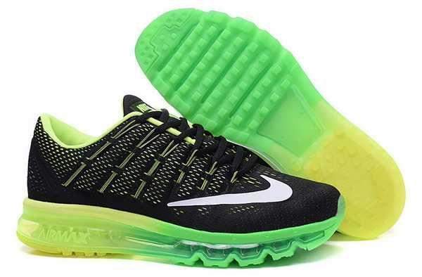 on sale fcde4 17c13 1830   Nike Air Max 2016 Herr Fluorescent Svart Grön Vit SE794504EFrcyDJ