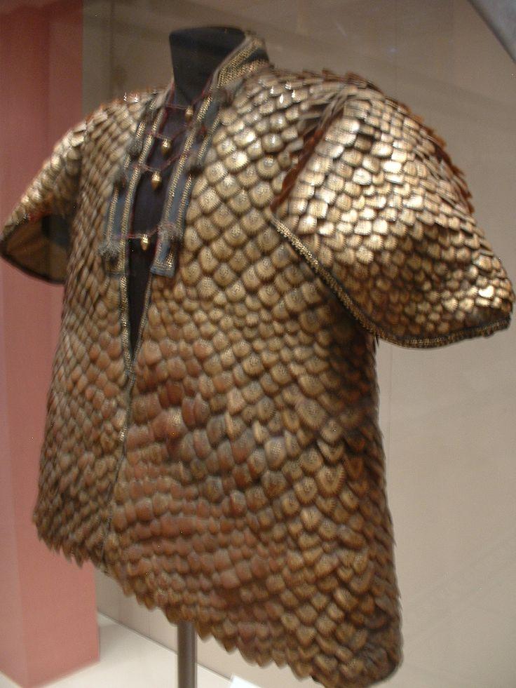 Coat of Pangolin scales - Pangolin - Wikipedia, the free encyclopedia