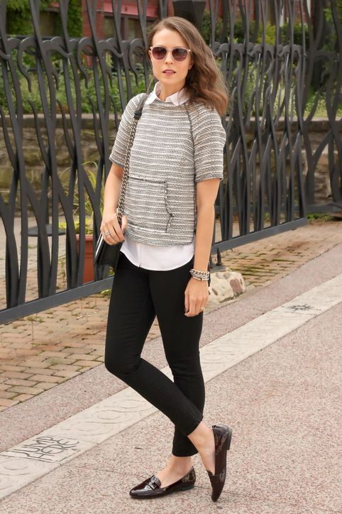 Classic Penny Loafers Get Reinvented for Fall: 15 New Ways to Wear Them waysify