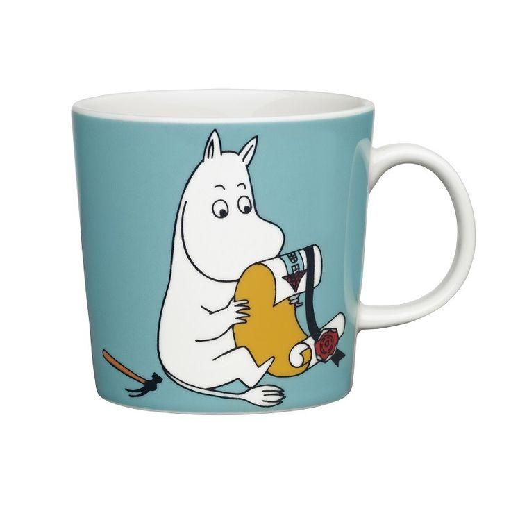 Arabia Moomin Mug: Moomintroll