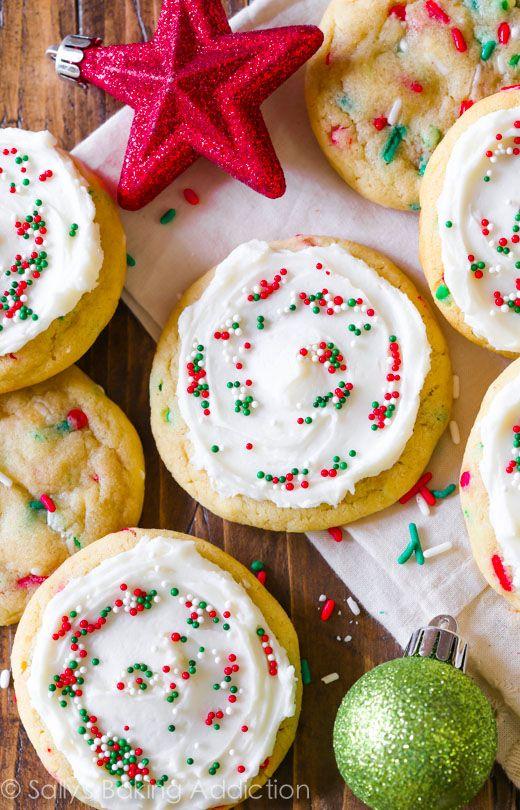 Christmas Funfetti Sugar Cookies-2