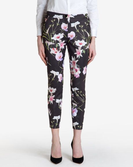 Mirrored tropics trousers - Black   Trousers & Shorts   Ted Baker UK